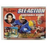 Kenner O.J. Simpson See-Action Football Game