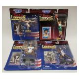 (4) Starting Lineup Timeless Legends Action