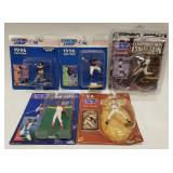 (5) Starting Lineup Sports Superstar Collectibles