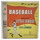 Milton Bradley Baseball Approved by Little League