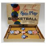 Vintage Jerry Lucas Spin-Play Basketball Game