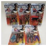 Lot of Steel Action Figures by Kenner. All for 1