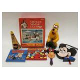 Lot of Vintage Disney Items. Includes puzzles,
