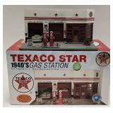 Texaco Star 1940s Gas Station Authentic