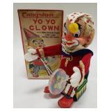 Cragstan Battery Op. Japan Yo-Yo Clown with box
