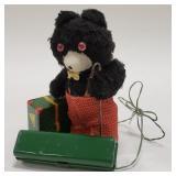 Japan Battery Op. Remote Control Traveler Bear