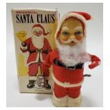 Japan Mechanical Alps Santa Claus with Box