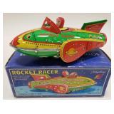 Schylling Tin Friction Power Rocket Racer