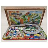 Welby Tin Treasures Highway Set Magic Stop n Go