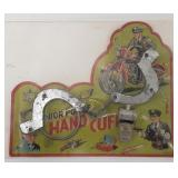 Japan Junior Police Hand Cuff Set. Comes with