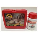Vintage Thermos Jurassic Park Plastic Lunchbox