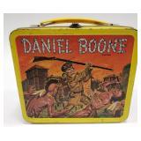1955 Aladdin Daniel Boone Metal Lunch Box. No
