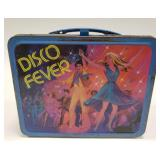 1980 Thermos Disco Fever Metal Lunch Box