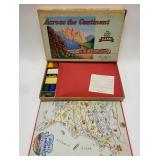 1952 Parker Brothers Across the Continent The