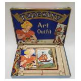Vintage Tapestry Art Outfit Copyright 1936 by