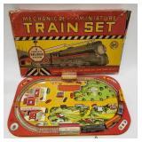 Vintage Tin Litho Windup Marx Mechanical