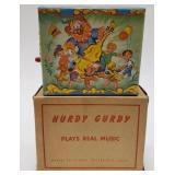 Hurdy Curdy Futurland Music Box