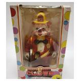 Vintage Bump & Go Benny The Clown Fireman.