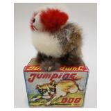 OKA Windup Jumping Dog with Box