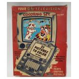 Tee-Vee Television Coloring Set
