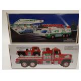 Hess Fire Truck and Ladder Rescue + Hess