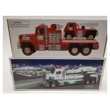 Hess Fire Truck and Ladder Rescue + Hess Toy
