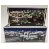 Hess Momster Truck with Motorcycles and Hess Toy