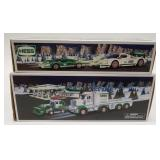 Hess Race Car and Racer + Hess Toy Truck and