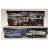 Hess Toy Truck and Front Loader + Hess Toy Truck