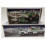 Hess Monster Truck with Motorcycles and Hess Toy