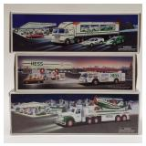 Hess Toy Fire Truck, Hess Toy Truck and Racers,