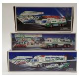 Hess Emergency Truck, Hess Toy Truck and Racer,