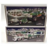 Hess Monster Truck with Motorcycles + Hess Toy
