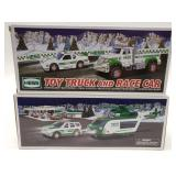 Hess Helicopter and Rescue Vehicle + Hess Toy