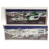 Hess Toy Truck and Racecars, Hess Helicopter and