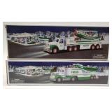 Hess Toy Truck and Jet + Hess Toy Truck and