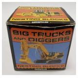 Caterpillar Big Trucks and Diggers Nesting