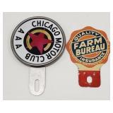 Vintage Chicago Motor Club AAA and Farm Bureau