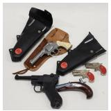 Lot of toy Guns and Holsters