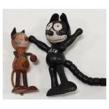 Early Felix the Cat Toy Figures