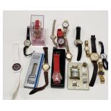 Lot of Miscellaneous Watches. Includes Hersheys,