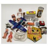 Lot of miscellaneous items includes Die-cast car,