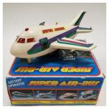Battery Operated Super Air-Bus with the box. Has