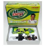 1/24 Scale Funny Car Del Worsham Mountain Dew