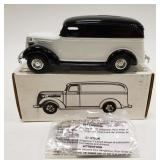 1/25 Scale Die-cast 1938 Panel Truck Bank