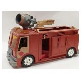 Tonka Plastic Fire Truck  Has some damage and