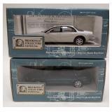 (2) 1997 Oldsmobile Aurora White Edition and Dark