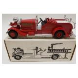 1/30 Scale Die-cast 1937 Ahrens-Fox Fire Truck