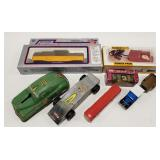 Lot of Miscellaneous Trains, Small Scale Toys,
