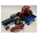 Lot of tractors. Some for parts and repair. Lot